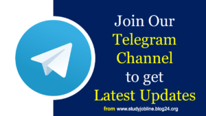 Telegram Channel- Study Job Line