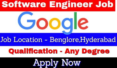 Google Recruitment 2021 | Software Engineer