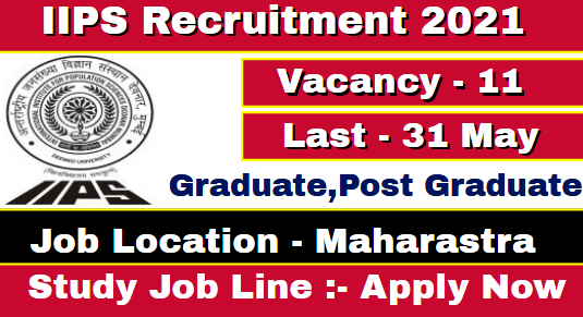 IIPS Teaching Recruitment 2021