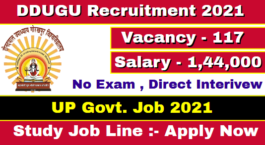 DDUGU Teaching Staff Recruitment 2021