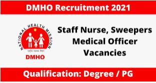 DMHO Gadwal Recruitment 2021